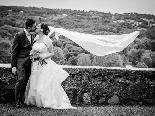 Il matrimonio di Luca e Valentina a Uggiate -Trevano, Como 45