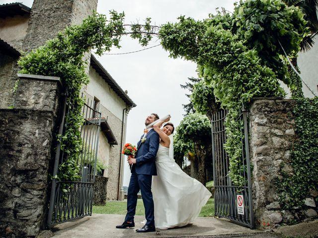Il matrimonio di Luca e Valentina a Uggiate -Trevano, Como 46