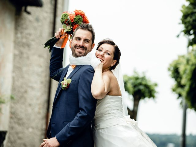Il matrimonio di Luca e Valentina a Uggiate -Trevano, Como 47