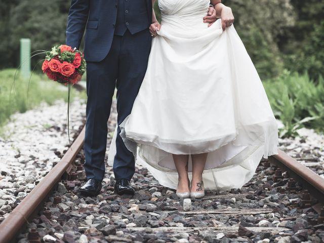 Il matrimonio di Luca e Valentina a Uggiate -Trevano, Como 51