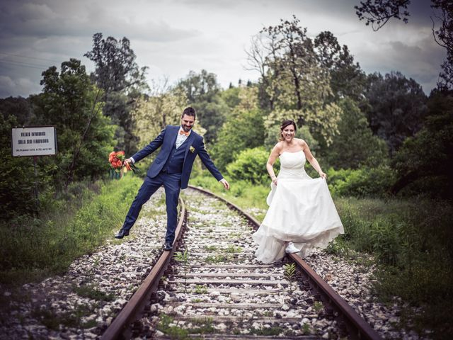 Il matrimonio di Luca e Valentina a Uggiate -Trevano, Como 52