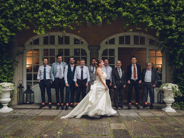 Il matrimonio di Luca e Valentina a Uggiate -Trevano, Como 77