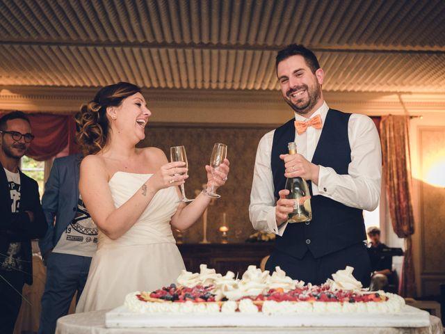 Il matrimonio di Luca e Valentina a Uggiate -Trevano, Como 83