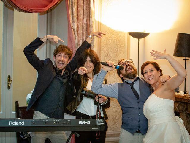 Il matrimonio di Luca e Valentina a Uggiate -Trevano, Como 85