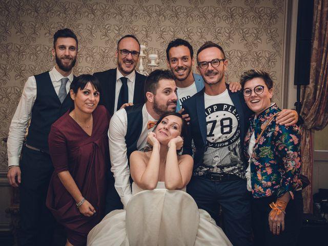 Il matrimonio di Luca e Valentina a Uggiate -Trevano, Como 86