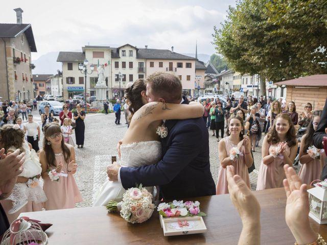 Il matrimonio di Gabriele e Arianna a Lamon, Belluno 6