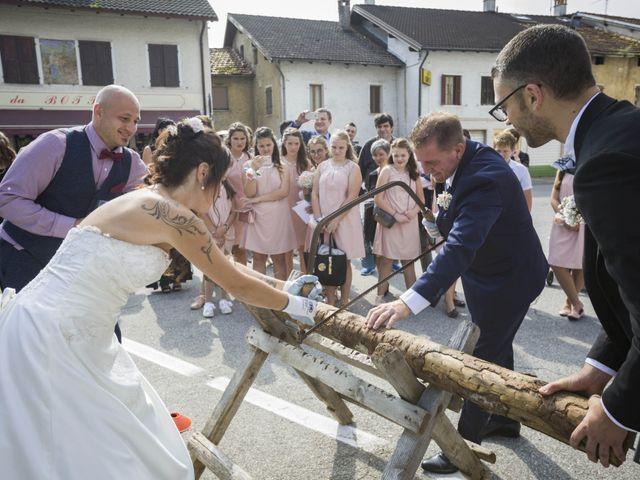 Il matrimonio di Gabriele e Arianna a Lamon, Belluno 9