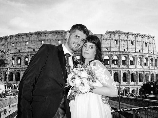Il matrimonio di Daniele e Raffaella a Roma, Roma 35