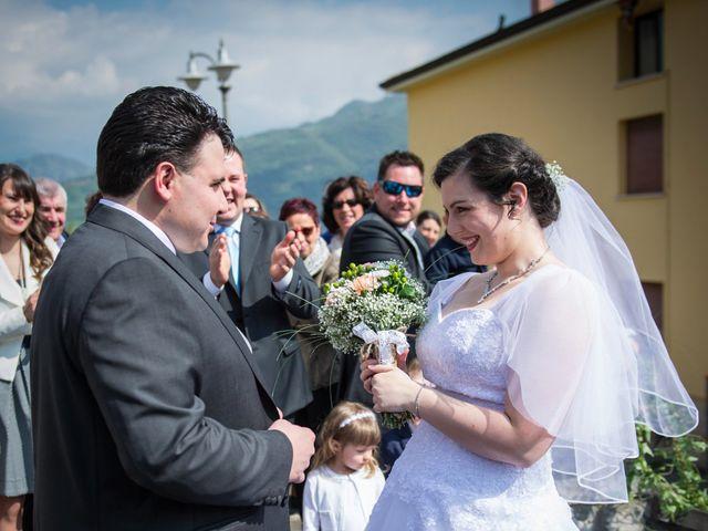 Il matrimonio di Diego e Naomi a Leffe, Bergamo 30