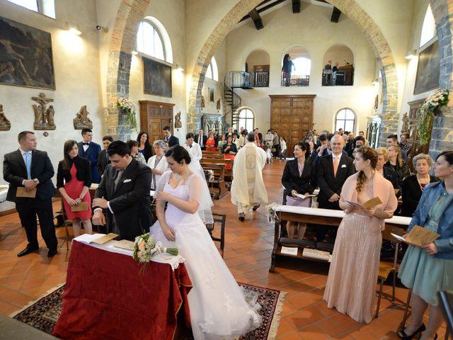 Il matrimonio di Diego e Naomi a Leffe, Bergamo 32