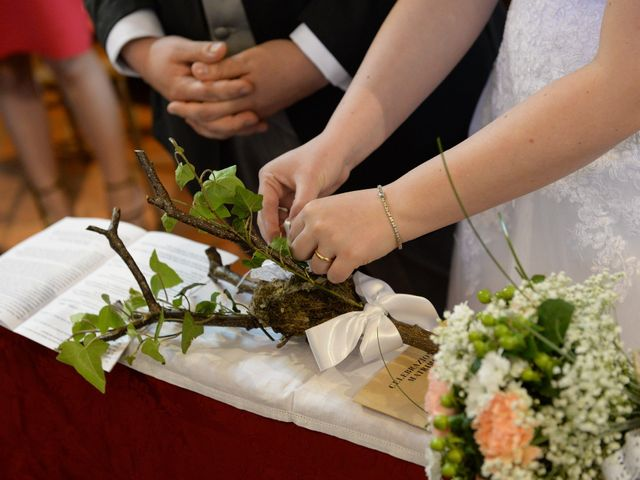 Il matrimonio di Diego e Naomi a Leffe, Bergamo 35