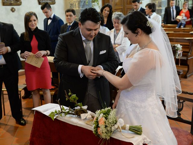 Il matrimonio di Diego e Naomi a Leffe, Bergamo 36
