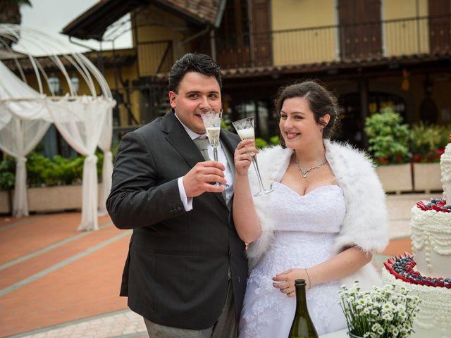 Il matrimonio di Diego e Naomi a Leffe, Bergamo 55