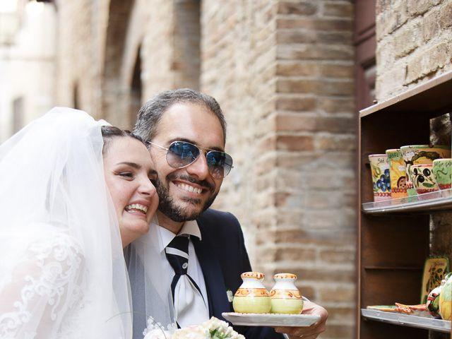Il matrimonio di Benedetto e Agnese a Gambassi Terme, Firenze 38