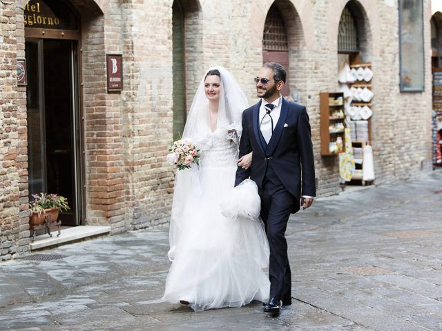 Il matrimonio di Benedetto e Agnese a Gambassi Terme, Firenze 39
