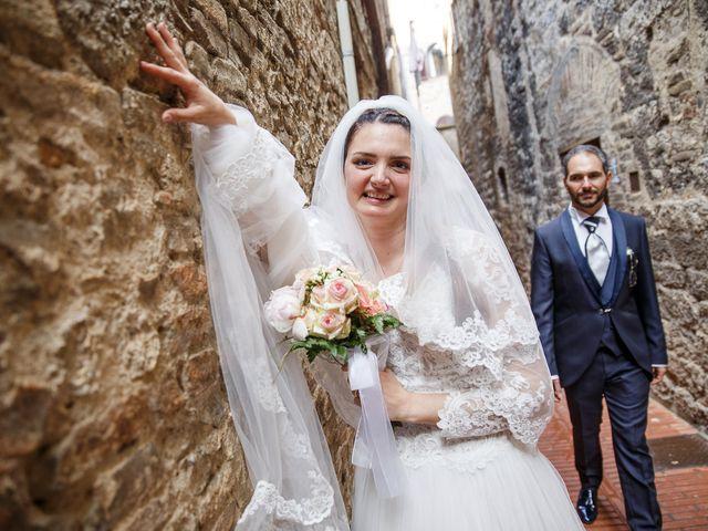 Il matrimonio di Benedetto e Agnese a Gambassi Terme, Firenze 40