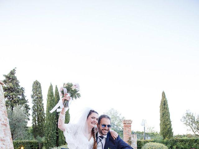 Il matrimonio di Benedetto e Agnese a Gambassi Terme, Firenze 42