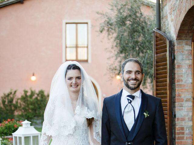 Il matrimonio di Benedetto e Agnese a Gambassi Terme, Firenze 44