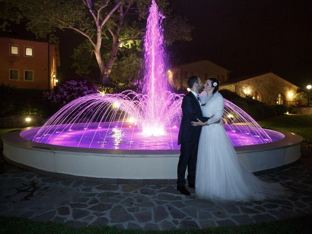 Il matrimonio di Benedetto e Agnese a Gambassi Terme, Firenze 55