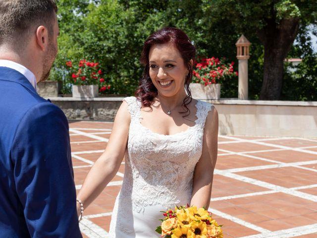 Il matrimonio di Sergio e Michela a Castel Gandolfo, Roma 37