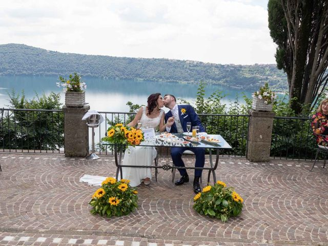 Il matrimonio di Sergio e Michela a Castel Gandolfo, Roma 60