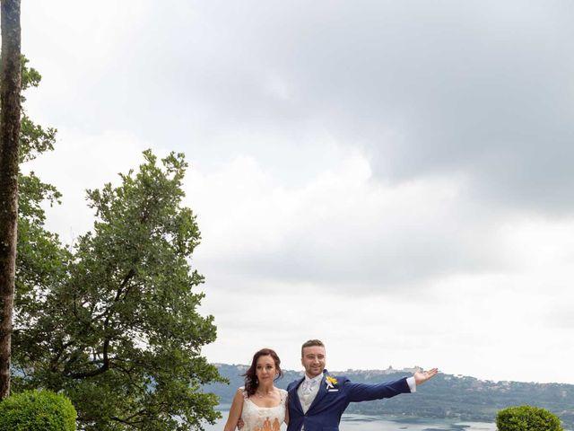 Il matrimonio di Sergio e Michela a Castel Gandolfo, Roma 70