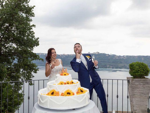 Il matrimonio di Sergio e Michela a Castel Gandolfo, Roma 71