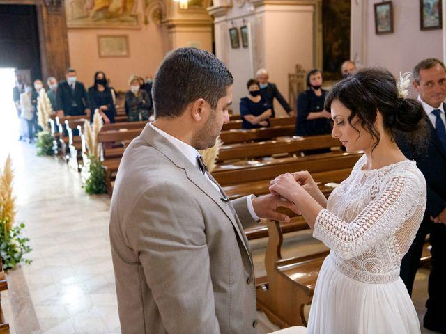 Il matrimonio di Ilaria e Vincenzo a Montemiletto, Avellino 45
