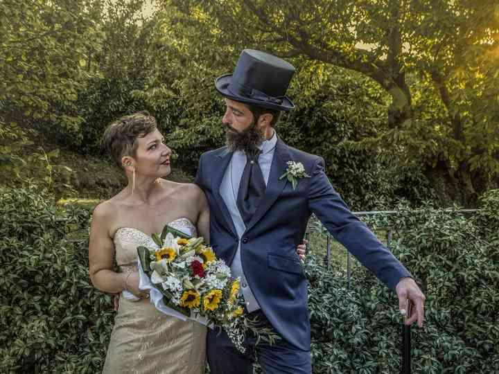 Le nozze di Justine e Luca