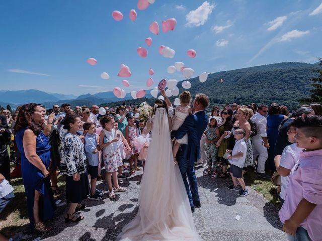 Il matrimonio di Francesco e Vanessa a Marchirolo, Varese 45