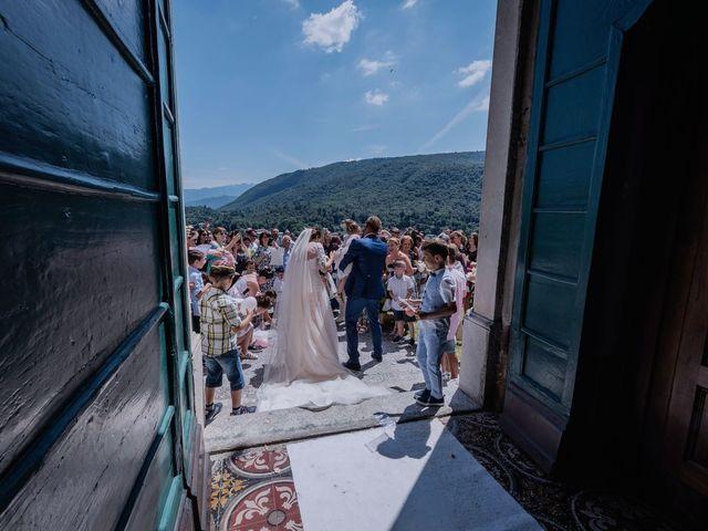 Il matrimonio di Francesco e Vanessa a Marchirolo, Varese 44