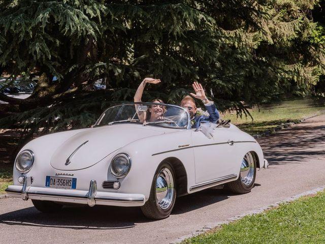 Il matrimonio di Francesco e Vanessa a Marchirolo, Varese 43
