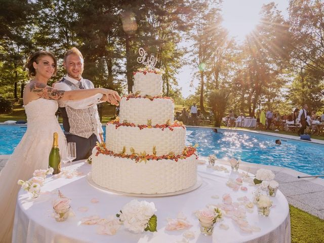 Il matrimonio di Francesco e Vanessa a Marchirolo, Varese 59