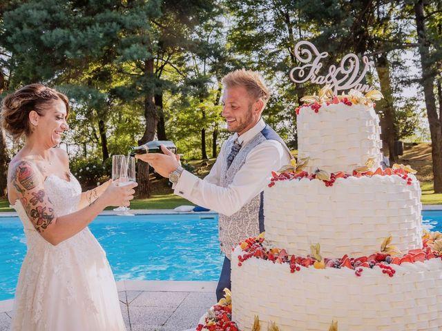 Il matrimonio di Francesco e Vanessa a Marchirolo, Varese 57