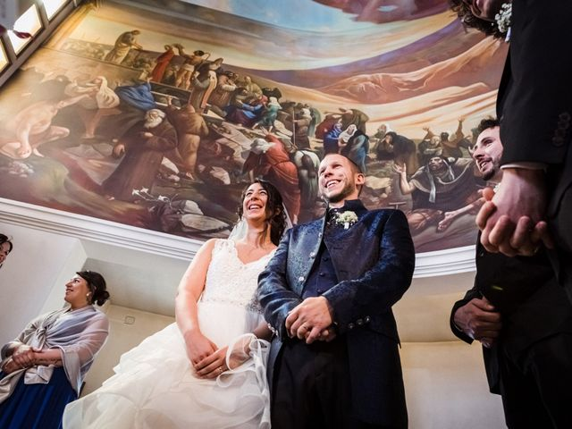 Il matrimonio di Marco e Sarah a Massanzago, Padova 26