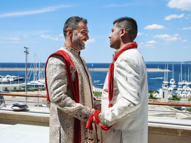 Il matrimonio di Manish e Angelo a Gallipoli, Lecce 12