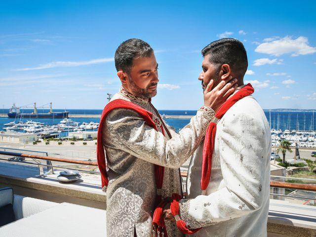 Il matrimonio di Manish e Angelo a Gallipoli, Lecce 14