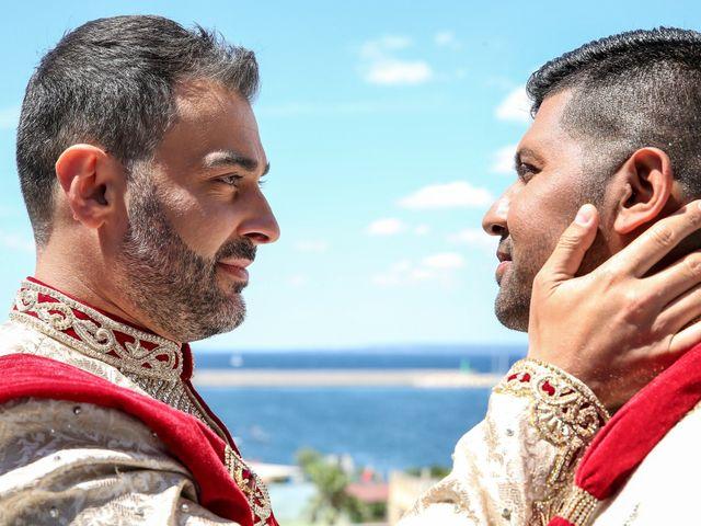 Il matrimonio di Manish e Angelo a Gallipoli, Lecce 15