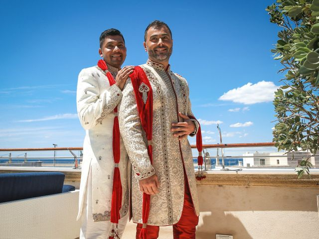 Il matrimonio di Manish e Angelo a Gallipoli, Lecce 17