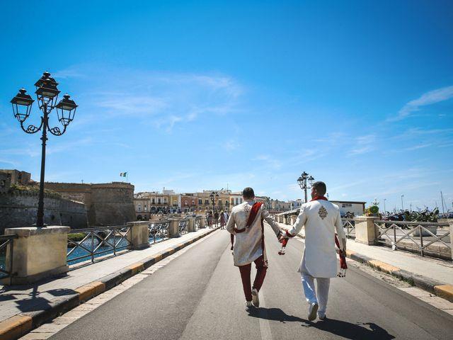 Il matrimonio di Manish e Angelo a Gallipoli, Lecce 20