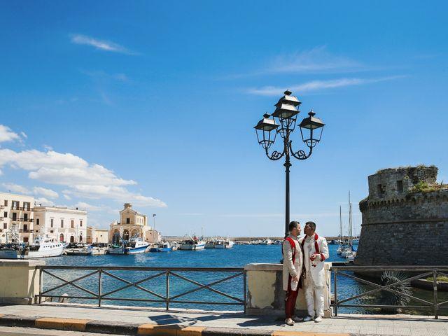 Il matrimonio di Manish e Angelo a Gallipoli, Lecce 22