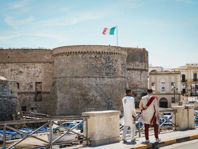 Il matrimonio di Manish e Angelo a Gallipoli, Lecce 23