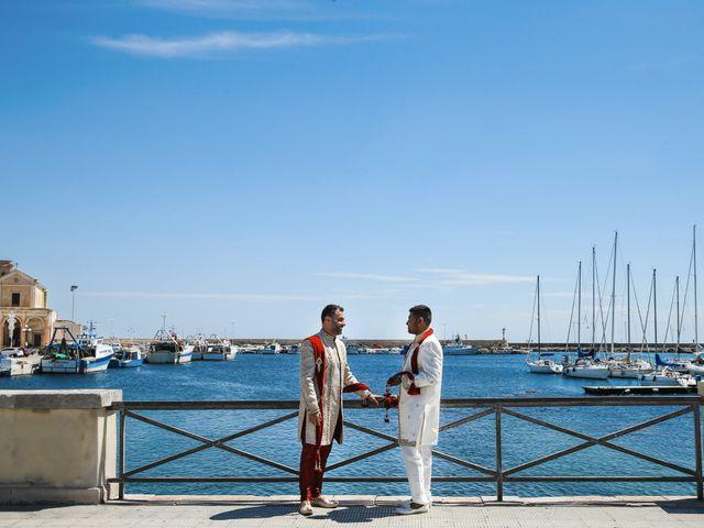 Il matrimonio di Manish e Angelo a Gallipoli, Lecce 24