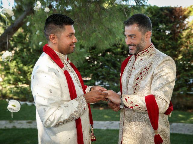 Il matrimonio di Manish e Angelo a Gallipoli, Lecce 27