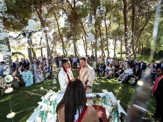 Il matrimonio di Manish e Angelo a Gallipoli, Lecce 29
