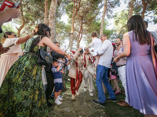 Il matrimonio di Manish e Angelo a Gallipoli, Lecce 30
