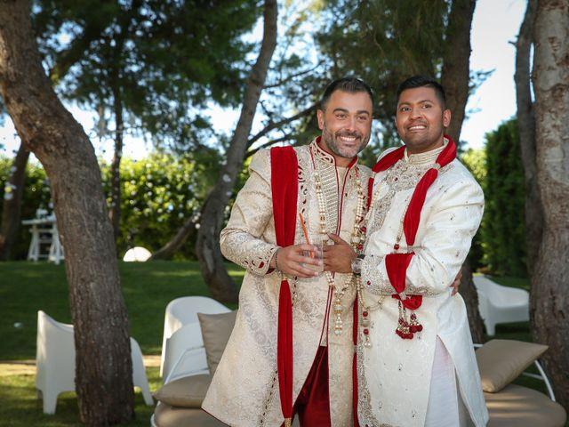 Il matrimonio di Manish e Angelo a Gallipoli, Lecce 31