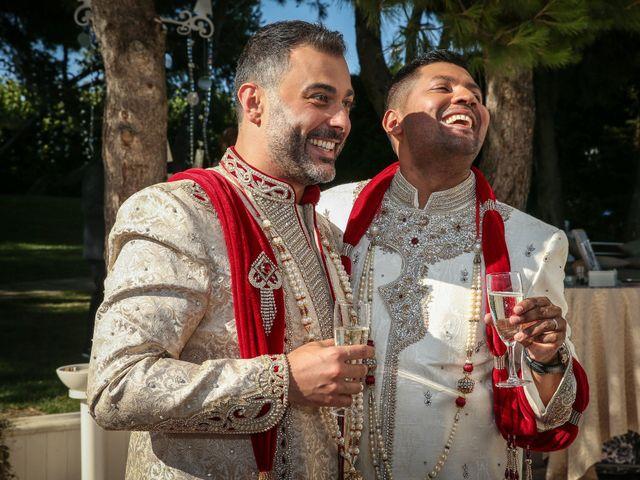 Il matrimonio di Manish e Angelo a Gallipoli, Lecce 32