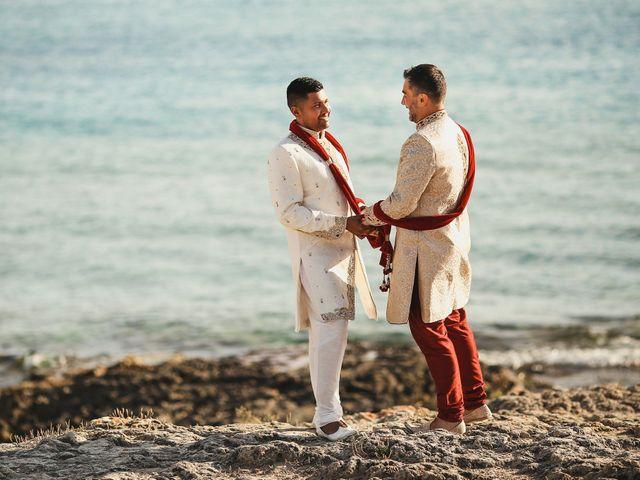 Il matrimonio di Manish e Angelo a Gallipoli, Lecce 33