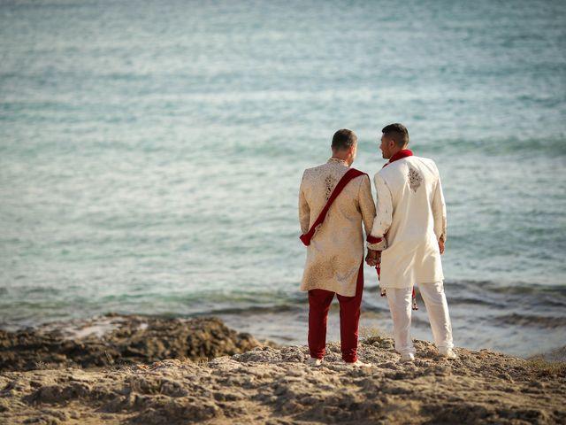 Il matrimonio di Manish e Angelo a Gallipoli, Lecce 34